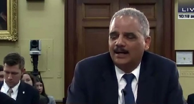 "Proposed ""Contempt Act"" Would Cut Eric Holder's Pay"