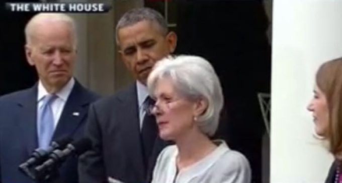 Sebelius Even Bungles Her Own Resignation