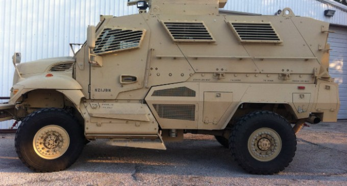 "Rise Of The Police State: Dallas County Now Has Bulletproof, ""Mine-Protected"" Military SUV"