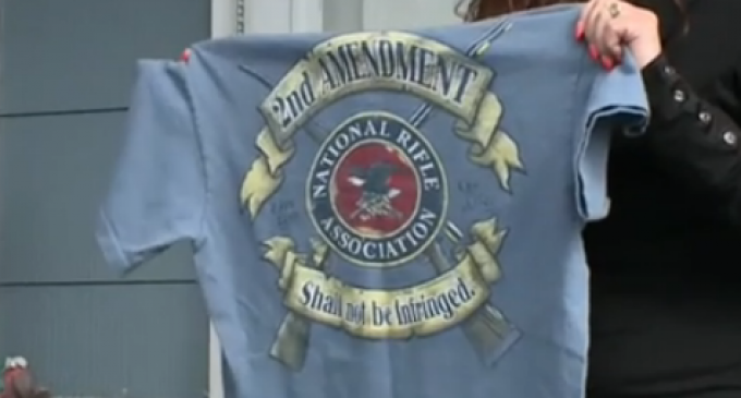 Student Suspended For Refusing To Turn NRA Shirt Inside Out