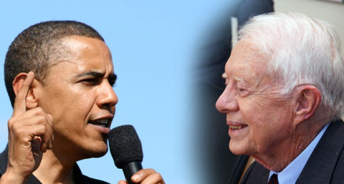 Jimmy Carter on Obama: Incompetent