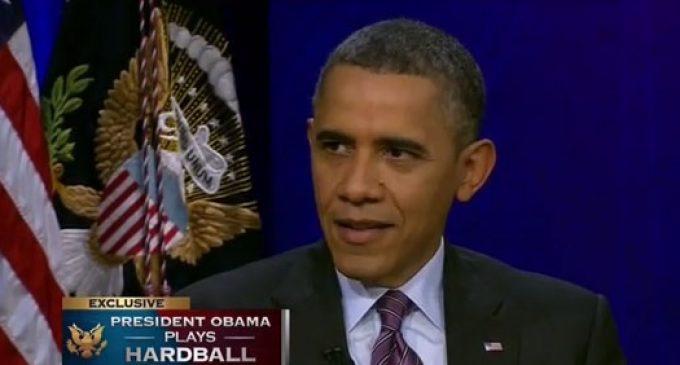 Obama: Media Fabricated IRS Scandal
