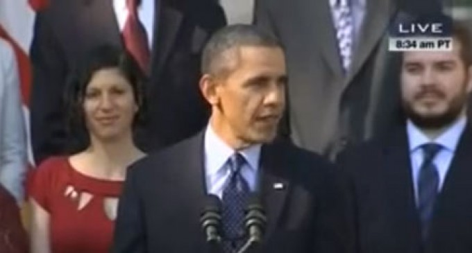 VIDEO: Obama's feeble attempt to link failure of Obamacare to the shutdown
