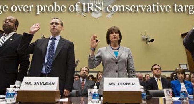 DOJ Probe of IRS a Total Sham