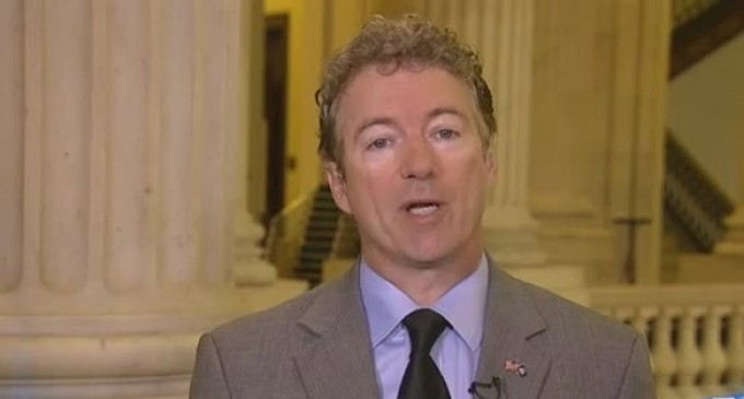 Rand Paul: Why Can't Obama End NSA Snooping If He Actually Wants To