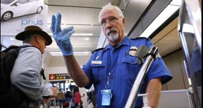 TSA Keeps Air Traffic Safe by Confiscating Toy Monkey's Toy Gun