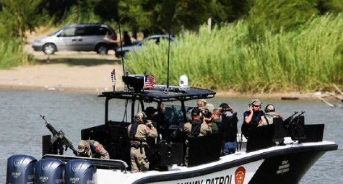Smugglers Shooting Across Mexican Border At US Law Enforcement