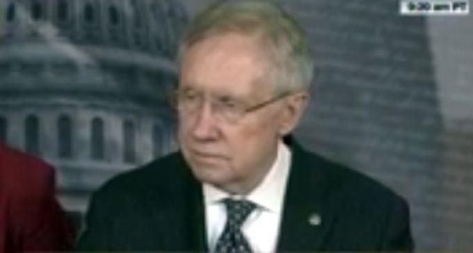 Why Did Only Harry Reid Receive Notice of Bergdahl Release?