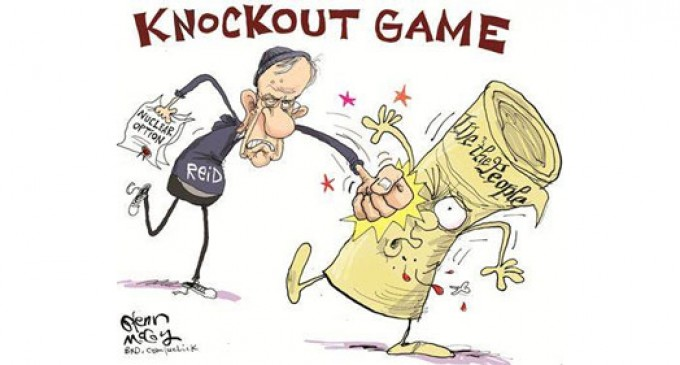 Harry Reid's Version of the Knockout Game