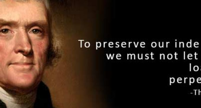 Wise Words from Thomas Jefferson