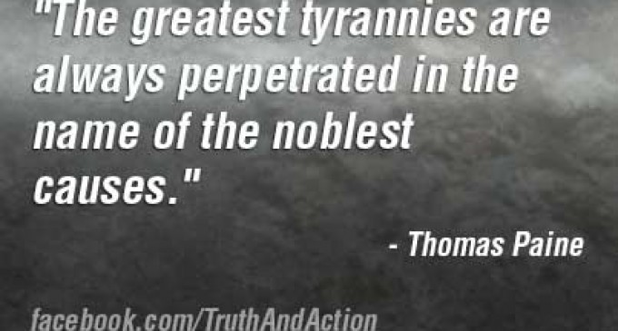 Thomas Paine on Tyranny