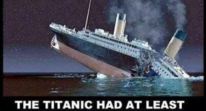 It's unfair to compare the ObamaCare rollout to the voyage of the Titanic.