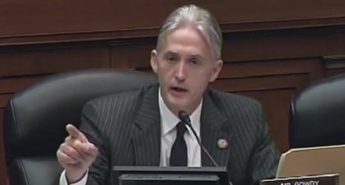 Trey Gowdy Tears Into Squirming IRS Commissioner