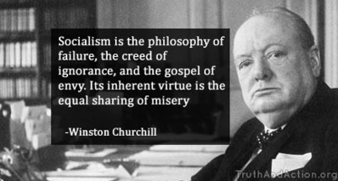 Winston Churchill: Wise words on Socialism