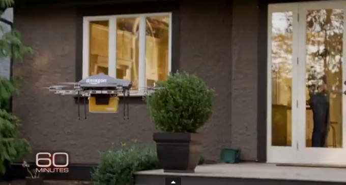 Amazon To Deliver To Your Door With Drones