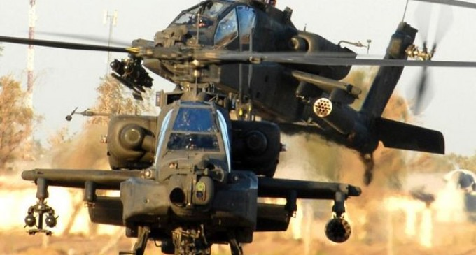Obama Seizes Apache Attack Helicopters From National Guard