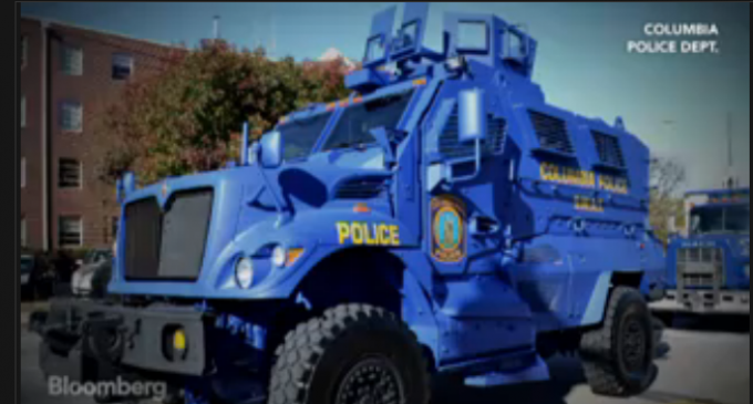 Army Gives 1000s of Armored Trucks To Local Police Departments