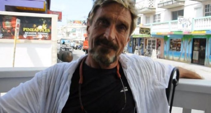 Block the NSA with upcoming device from John McAfee