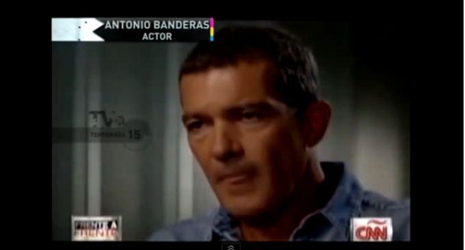 Antonio Banderas: The Answer Is Socialism