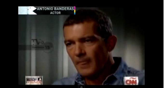 Antonio Banderas: The Answer Is Socialism