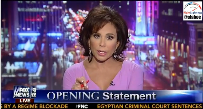 """""""You, Mr. President, have defrauded the American People"""" Judge Jeanine Pirro"""