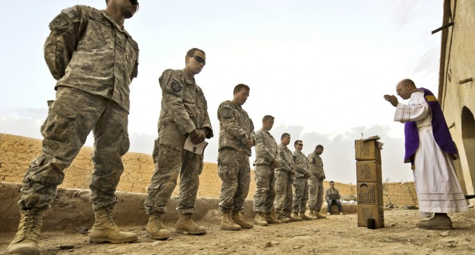 Hagel & Holder: Catholic Priests Don't Contribute to The Moral and Well-being Of Military