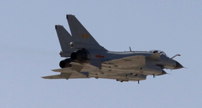 """US Jets Fly Into Chinese """"Newly Declared"""" Air Space, Chinese Fighters Start Shadowing"""