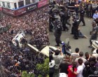 Chinese Citizens Beat Government Bureaucrats In Massive Riot