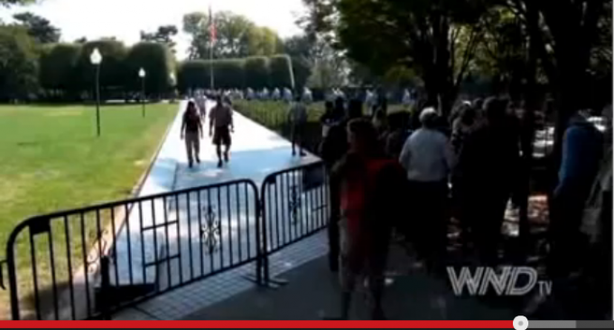 Video: Civil Disobedience At Lincoln Memorial