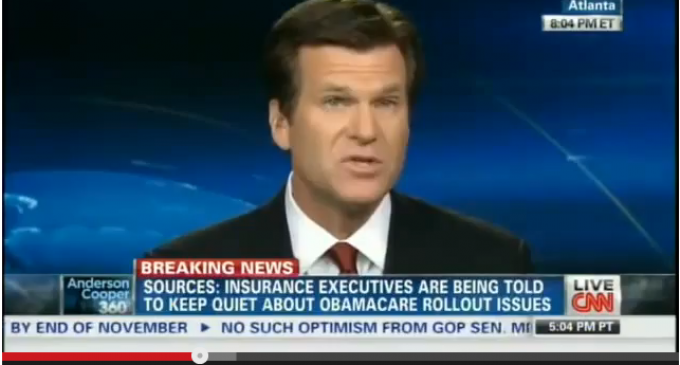 CNN: Obama Admin Silencing Insurance Companies To Not Expose Obamacare Problems