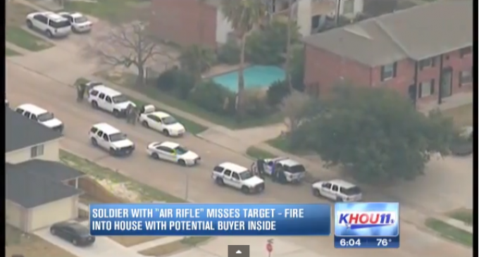 DHS Agent Causes SWAT Raid On Solider With Toy Gun