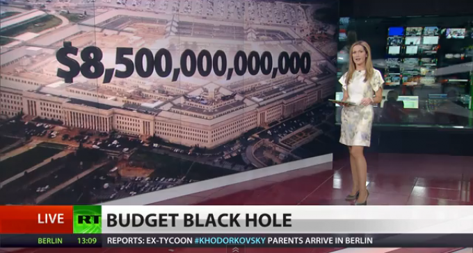 $8.5 Trillion In Unaccounted For DOD Spending