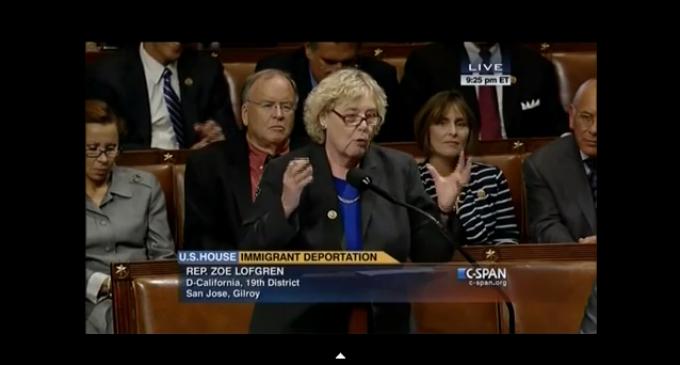 Democrat Rep. Lofgren: Illegals Are The 'Hope And Future' Of America