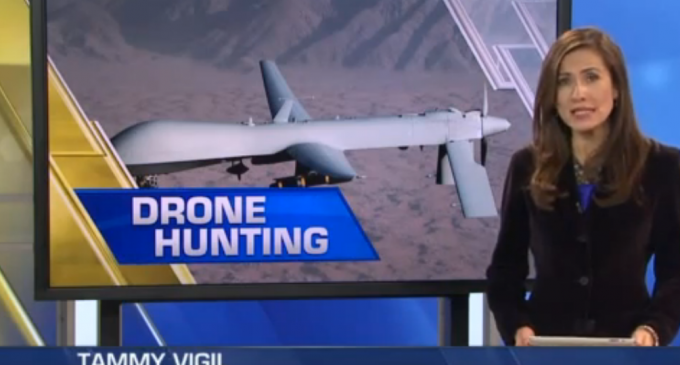 Town Plans To Offer Drone-Hunting Licenses
