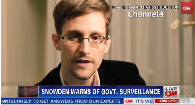 Edward Snowden's Christmas Message