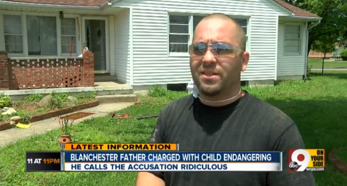 Father Arrested Because His Son Skipped Church And Played In Neighborhood