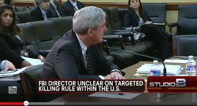 FBI Director Doesn't Know If The Gov't Can Kill Americans On American Soil