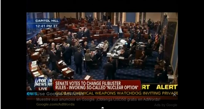 Senate Votes To Change Filibuster Rules In Place Since 1789