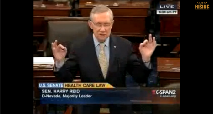 Harry Reid's Lies About His Lies