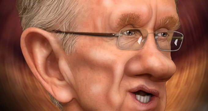 Harry Reid Sullies Newtown Memorial Speech with Self-Serving Propaganda
