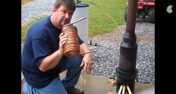 Generate Endless Hot Water Without Electricity Or Solar Power