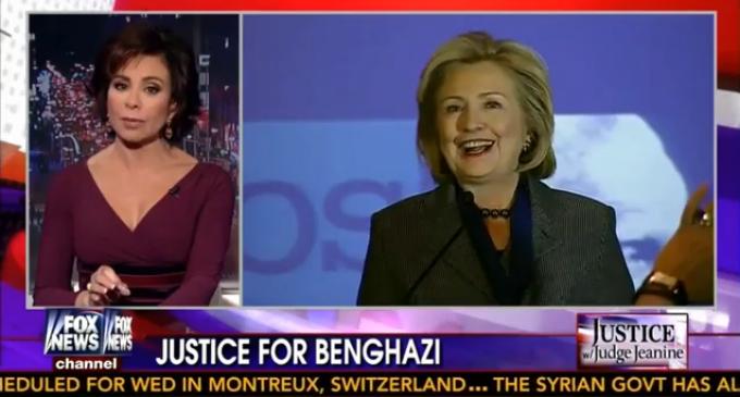 Benghazi: Judge Jeanine Pirro Utterly Destroys Hillary Clinton