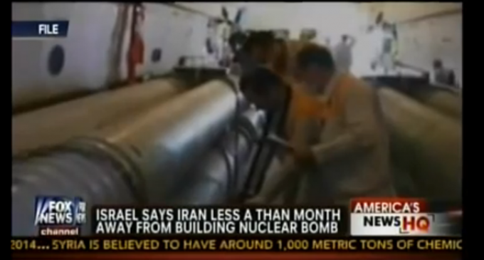 War Drums: Israel Say Iran Is Less Than 1 Month Away From A Bomb