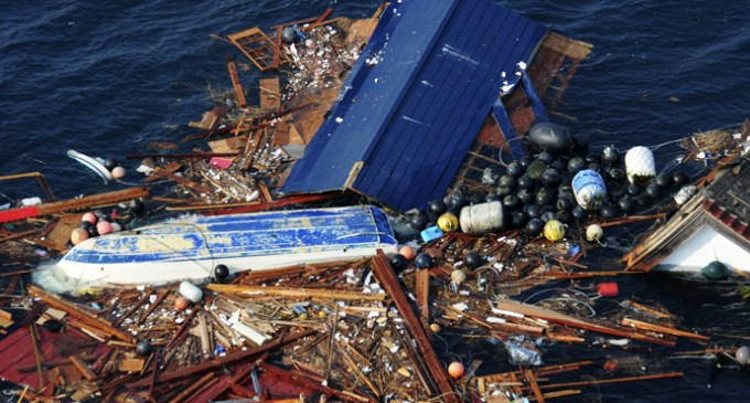 California, Oregon, and Washington Innundated With Fukushima Debris And Marine Life