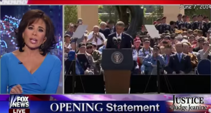 Judge Jeanine Cries Out For Impeachment: Obama Wanted To Release The Terrorists