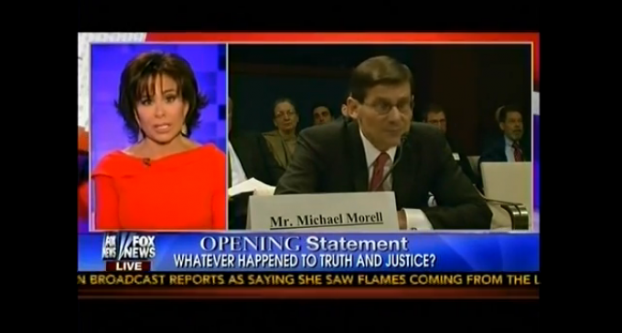 Judge Pirro: Latest Benghazi Lies Performed By Former CIA Chief Michael Morell