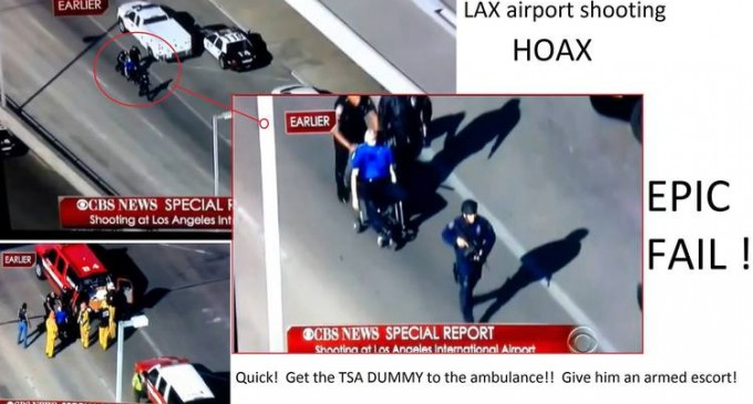 LAX Shooting A Hoax – Photo And Video Proof