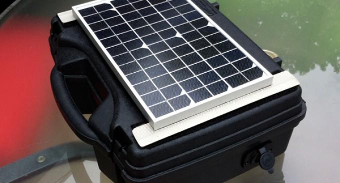 Build A Portable Solar Power Generator For Under $150