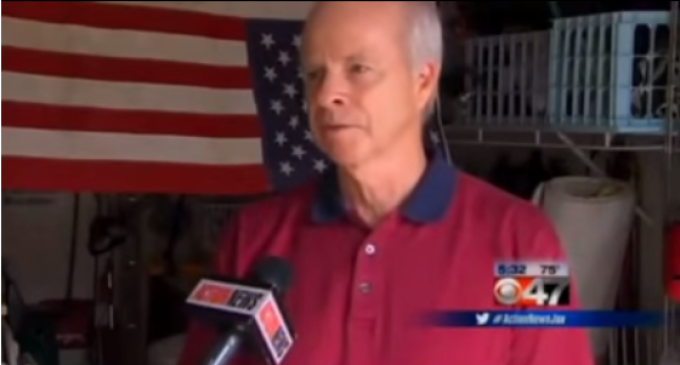 Veteran Fined $8000 And Might Lose Home For Tiny American Flag In Flowerpot