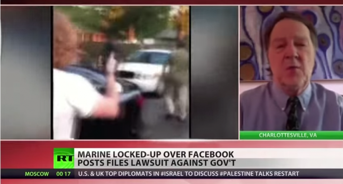 Decorated Marine Arrested For Facebook Posts – Appeal Filed